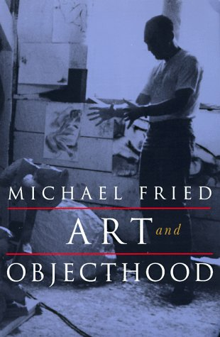 Art and Objecthood Essays and Reviews  1998 edition cover