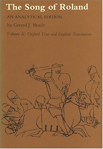 Song of Roland Oxford Text and English Translation  1978 edition cover