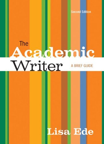 Academic Writer A Brief Guide 2nd 2011 edition cover