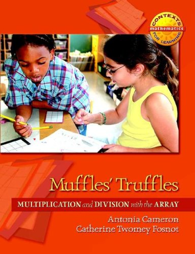 Muffles' Truffles Multiplication and Division with the Array  2008 edition cover