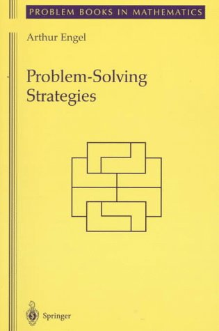 Problem-Solving Strategies   1998 edition cover