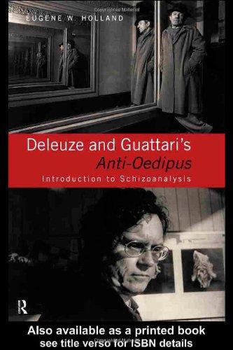 Deleuze and Guattari's Anti-Oedipus Introduction to Schizoanalysis  1999 edition cover