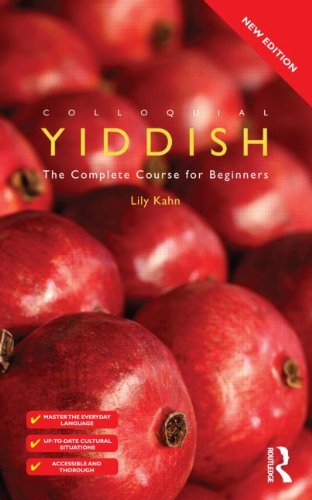 Colloquial Yiddish   2011 edition cover