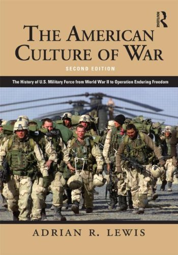 American Culture of War A History of US Military Force from World War II to Operation Enduring Freedom 2nd 2012 (Revised) edition cover