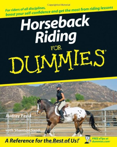 Horseback Riding for Dummies   2007 edition cover