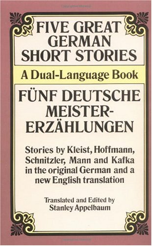 Five Great German Short Stories A Dual-Language Book N/A edition cover