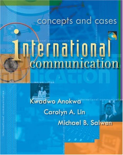 International Communication Concepts and Cases  2003 edition cover