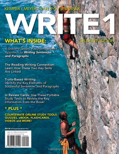 Write   2012 edition cover