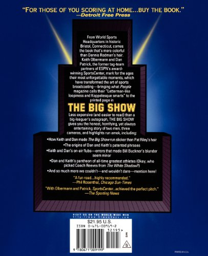 Big Show A Tribute to ESPN's SportsCenter  1998 edition cover