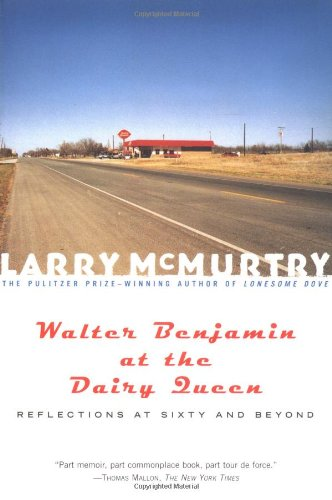 Walter Benjamin at the Dairy Queen Reflections at Sixty and Beyond  2001 edition cover