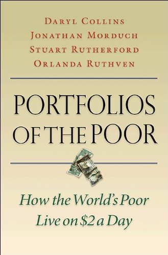 Portfolios of the Poor How the World's Poor Live on $2 a Day  2009 edition cover