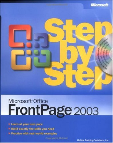 Microsoft Office FrontPage 2003 Step by Step   2004 (Revised) edition cover