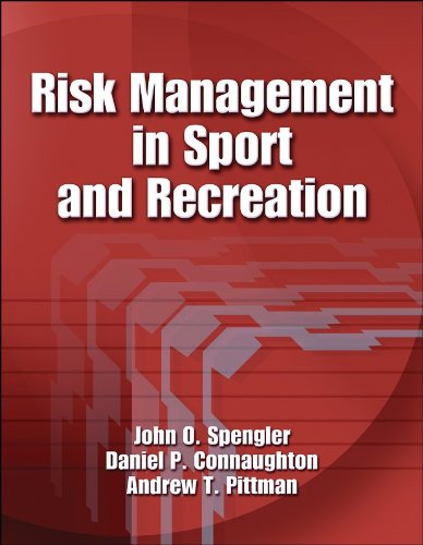 Risk Management in Sport and Recreation   2005 edition cover