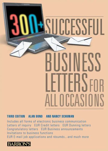 300+ Successful Business Letters for All Occasions  3rd 2010 (Revised) edition cover