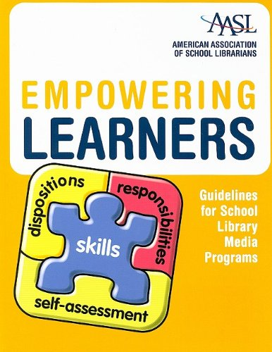 Empowering Learners Guidelines for School Library Media Programs  2009 edition cover