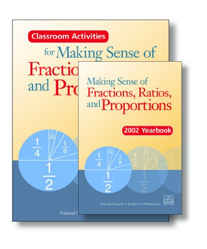 Making Sense of Fractions, Ratios, and Proportions : 2002 Yearbook 1st 2002 edition cover