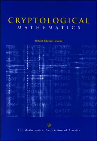 Cryptological Mathematics   2000 edition cover