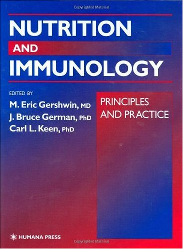 Nutrition and Immunology Principles and Practice  2000 edition cover