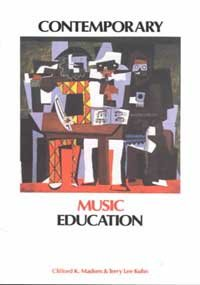 Contemporary Music Education 2nd 1994 (Revised) edition cover