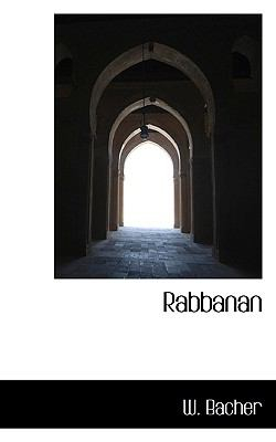 Rabbanan  N/A 9781115379199 Front Cover