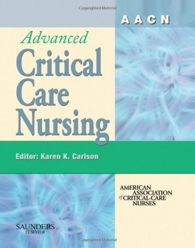 AACN Advanced Critical Care Nursing   2007 edition cover