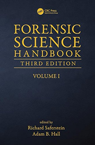 Cover art for Forensic Science Handbook, Volume 1, 3rd Edition