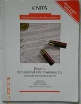 Dixon Volume Providential Life Insurance Co Technology Case File  2000 edition cover