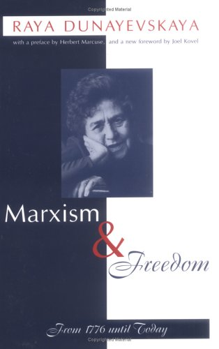 Marxism and Freedom From 1776 until Today  2000 edition cover