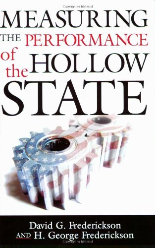 Measuring the Performance of the Hollow State   2009 edition cover
