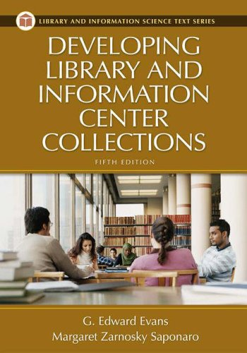 Developing Library and Information Center Collections  5th 2005 (Revised) edition cover