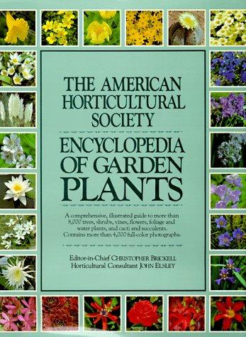 American Horticultural Society Encyclopedia of Garden Plants   1989 edition cover