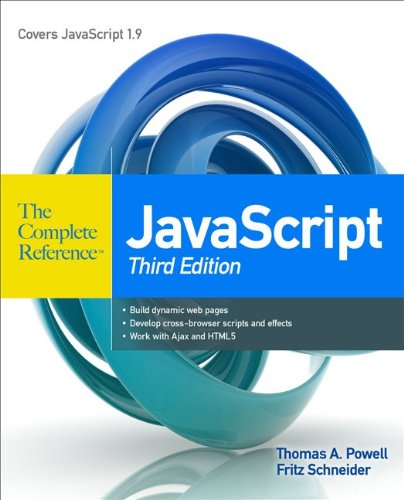 JavaScript  3rd 2012 (Revised) edition cover