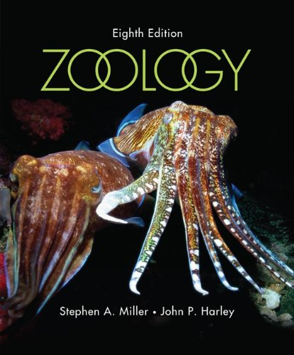 Zoology  8th 2010 edition cover