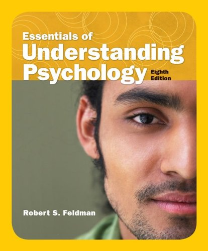 Essentials of Understanding Psychology  8th 2009 edition cover