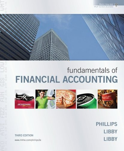 Fundamentals of Financial Accounting  3rd 2011 edition cover