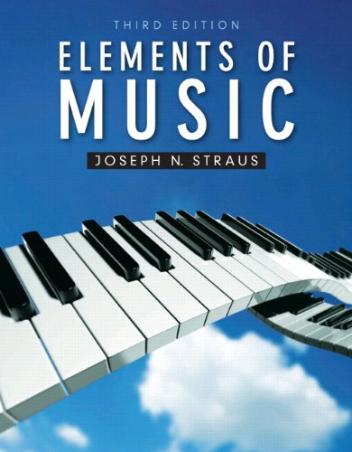 Elements of Music  3rd 2012 edition cover