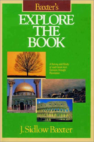 Baxter's Explore the Book   1987 edition cover