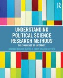 Understanding Political Science Research Methods The Challenge of Inference  2014 edition cover
