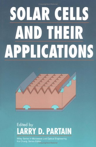 Solar Cells and Their Applications  1st 1995 9780471574200 Front Cover