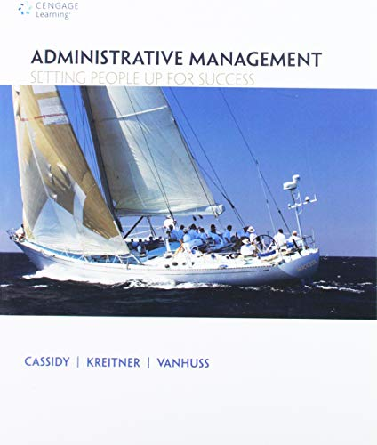ADMINISTRATIVE MANAGEMENT-W/ACCESS      N/A 9780495967200 Front Cover