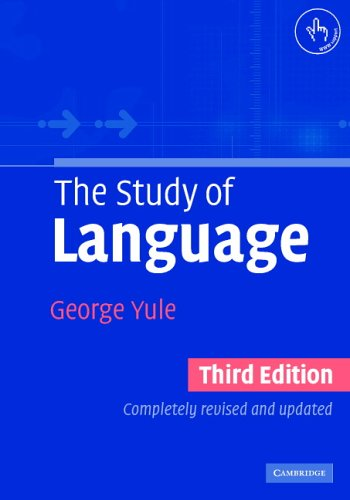 Study of Language  3rd 2006 (Revised) 9780521543200 Front Cover