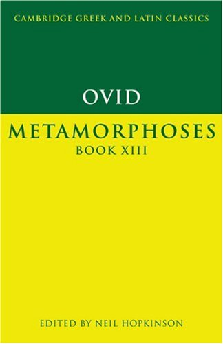 Ovid Metamorphoses  2000 9780521556200 Front Cover