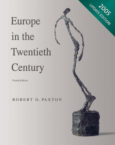 Europe in the 20th Century  4th 2005 9780618915200 Front Cover