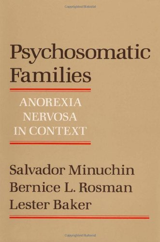 Psychosomatic Families Anorexia Nervosa in Context  1978 edition cover