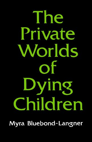 Private Worlds of Dying Children   1980 edition cover