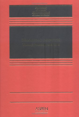 Resolving Disputes Theory, Practice, and Law  2005 edition cover