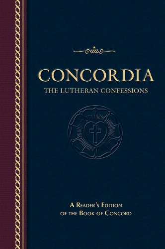 Concordia The Lutheran Confessions N/A edition cover
