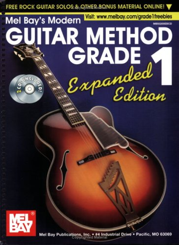 Modern Guitar Method Grade 1, Expanded Edition   2011 edition cover