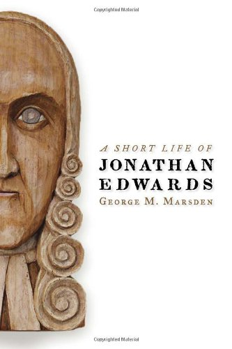 Short Life of Jonathan Edwards  2008 edition cover