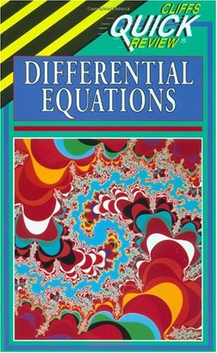 CliffsQuickReview Differential Equations   1995 edition cover